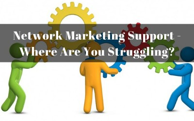 Network Marketing Support – Where Are You Struggling?