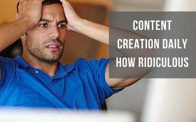 Content Creation Daily – How Ridiculous