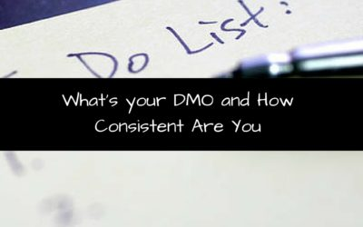 What's your DMO and How Consistent Are You?