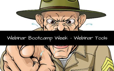 Webinar Bootcamp Week – Webinar Tools