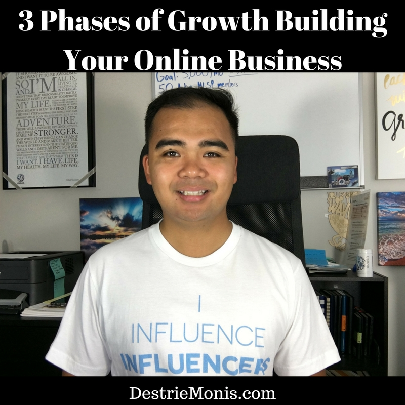 3 Phases of Growth Building Your Online Business