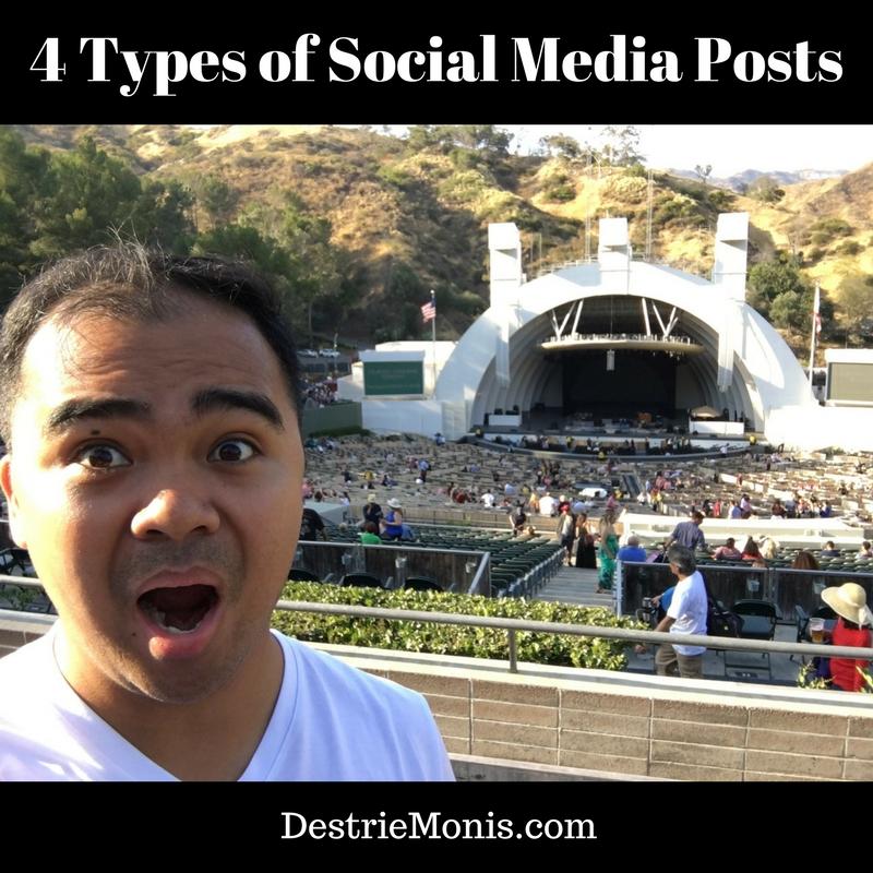 4 Types of Social Media Posts