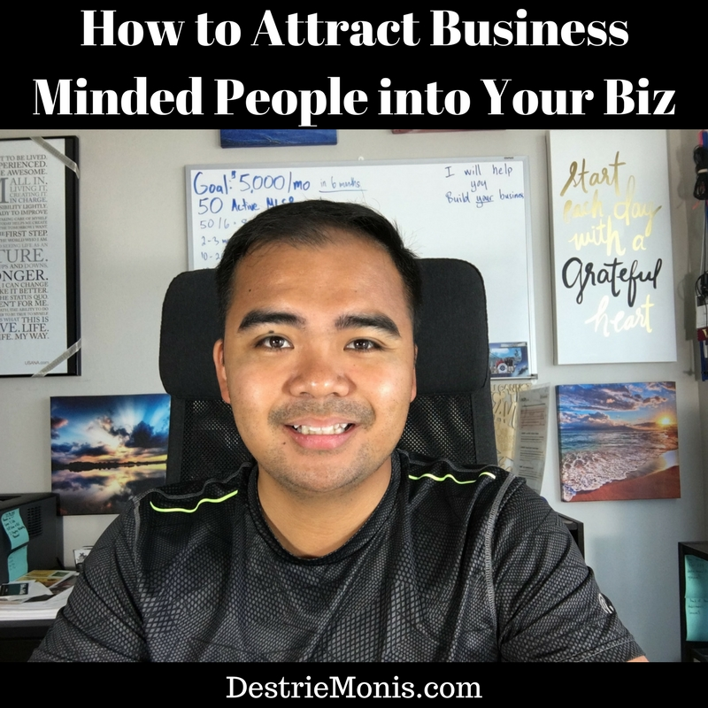 How to Attract Business Minded People into Your Business