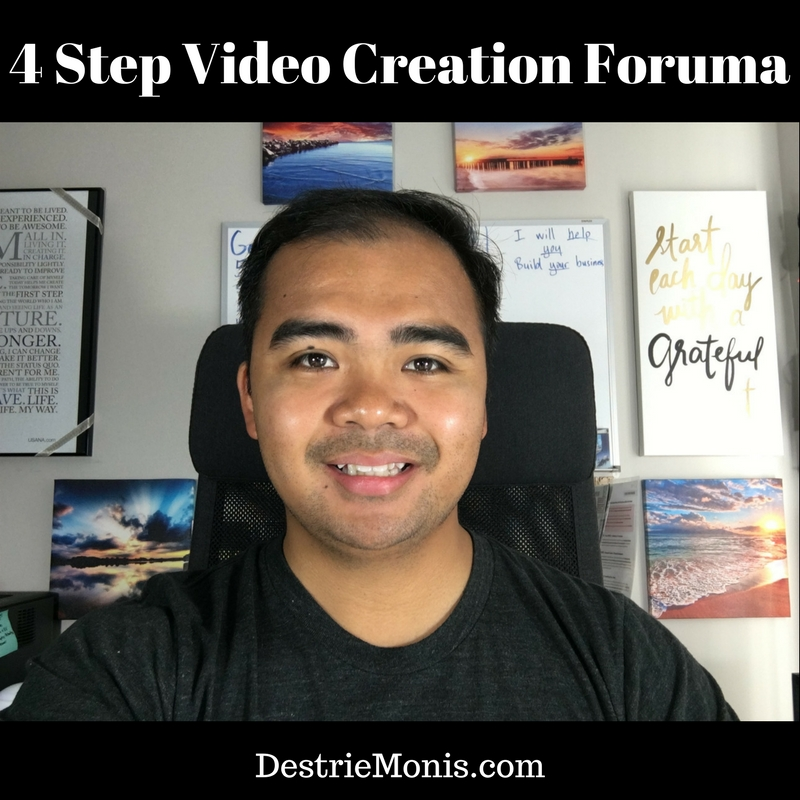 4 Step Video Creation Formula