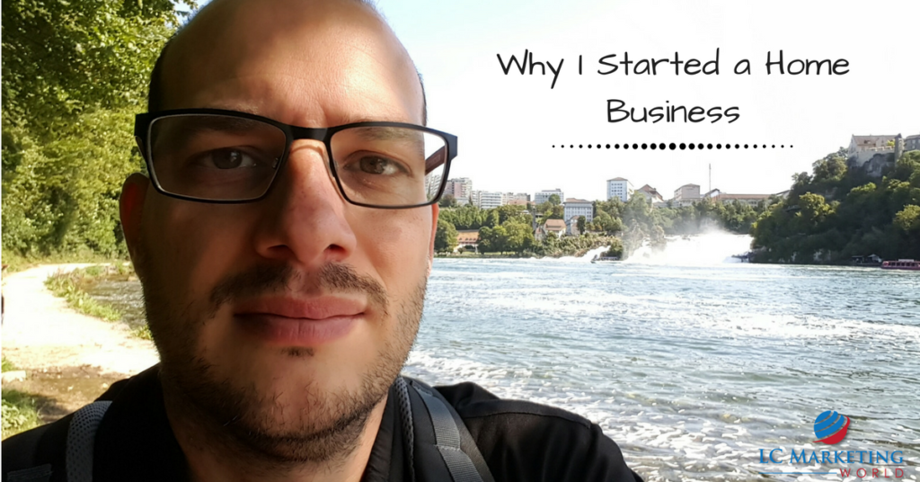 Why I Started a Home Business
