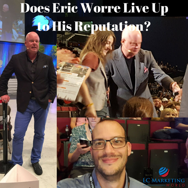 Does Eric Worre Live Up to His Reputation?