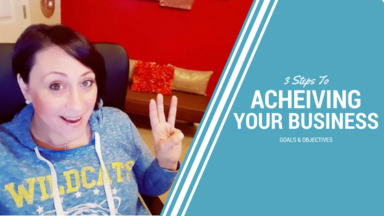 MLM Marketing: 3 Steps To Achieving Your Business Goals & Objectives!