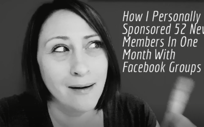 MLM Recruiting Secrets | How I Personally Sponsored 52 New Members In One Month With Facebook Groups