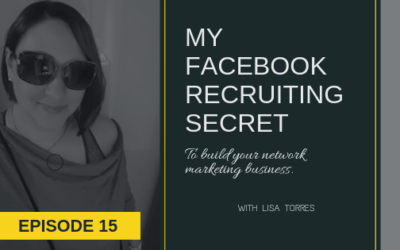 My Simple Facebook Recruiting Secret