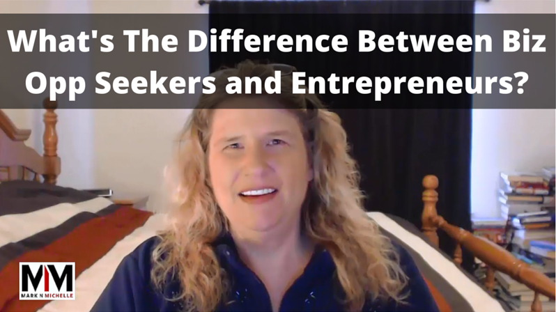 What's The Difference Between Biz Opp Seekers and Entrepreneurs?