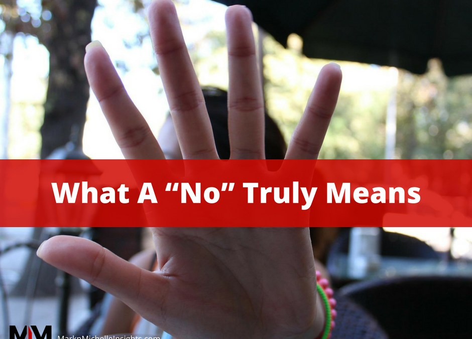 "What A ""No"" Truly Means 