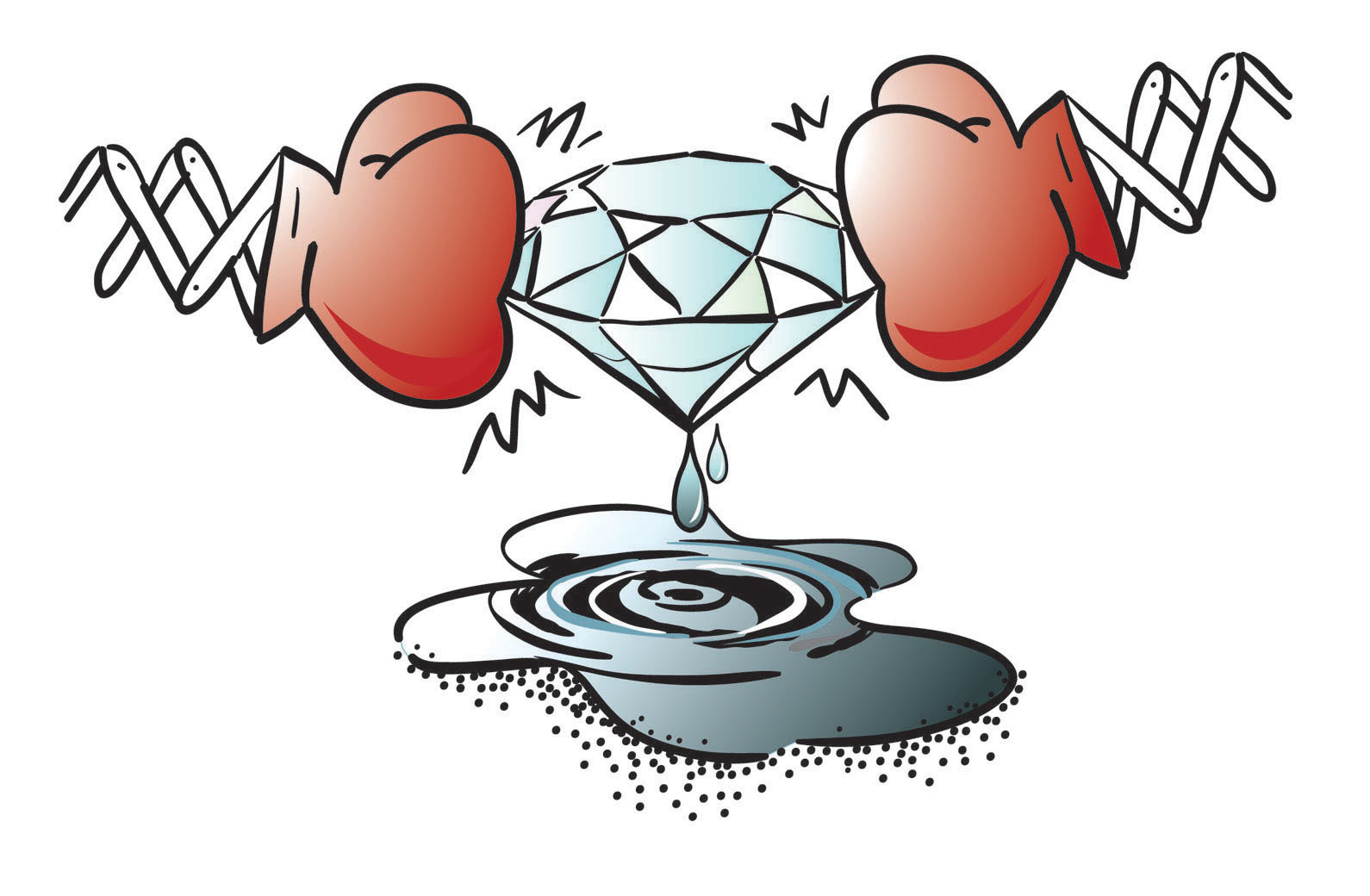 diamond-pressure