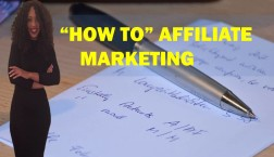 hO TO AFFILIATE MARKETING