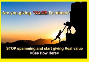 Give Value To Be Successful Online