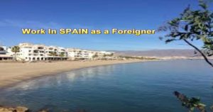 Work in Spain as a foreigner