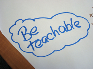 Be Teachable and Listen To Mentors and Coaches