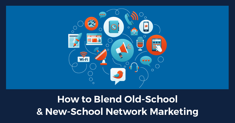 "Blending Online Marketing With ""Old School"" Networking to Accelerate Team Growth"