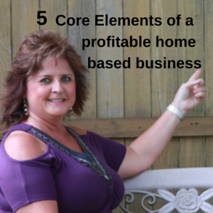 5 Core Elements Of A Profitable Home Based Business