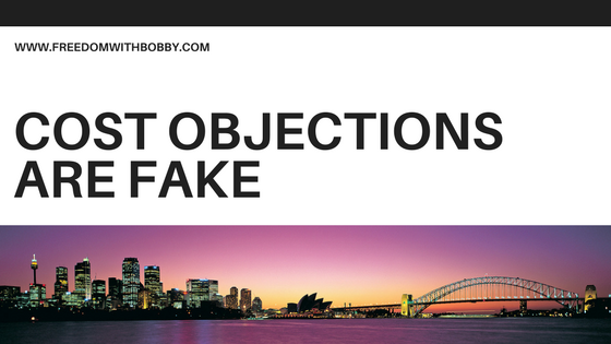 Cost Objections Are Fake