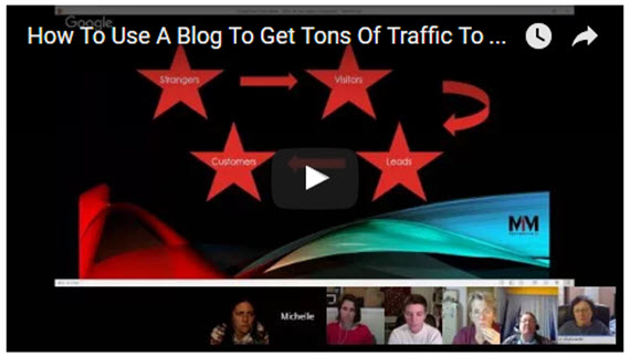 How To Use A Blog To Get Tons Of Traffic To Your Offer [Webinar Replay]