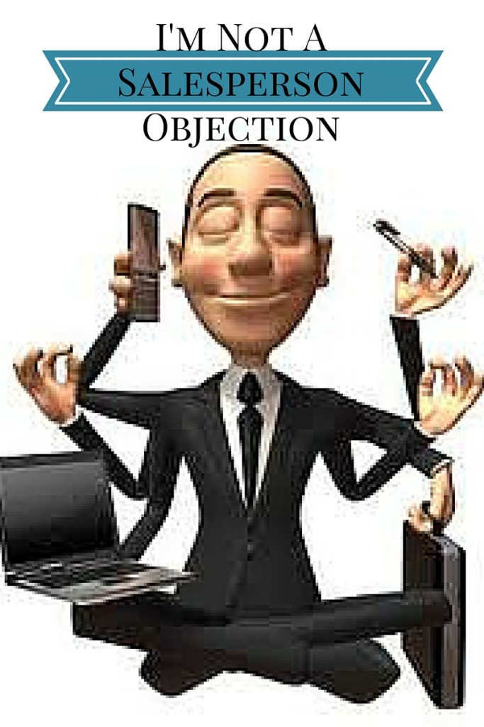 Salesperson Objection- How To Overcome