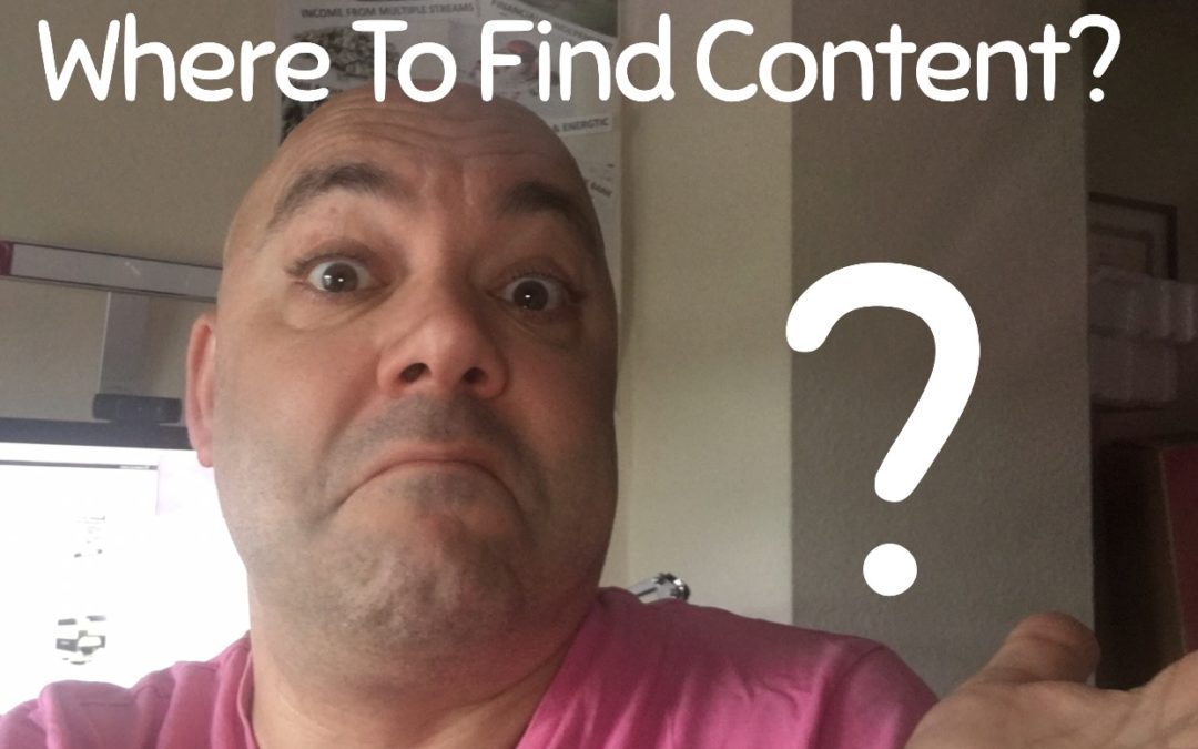 3 Effective Ways To Find Content For Blogs And Videos