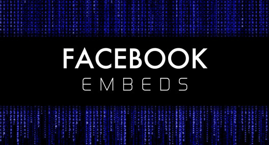 Embed Your Facebook Videos and Posts!