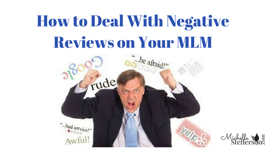 What to say When Your Prospect Finds Negative Reviews about Your MLM