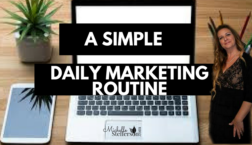 simple daily marketing routine