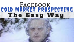 cold market Facebook prospecting