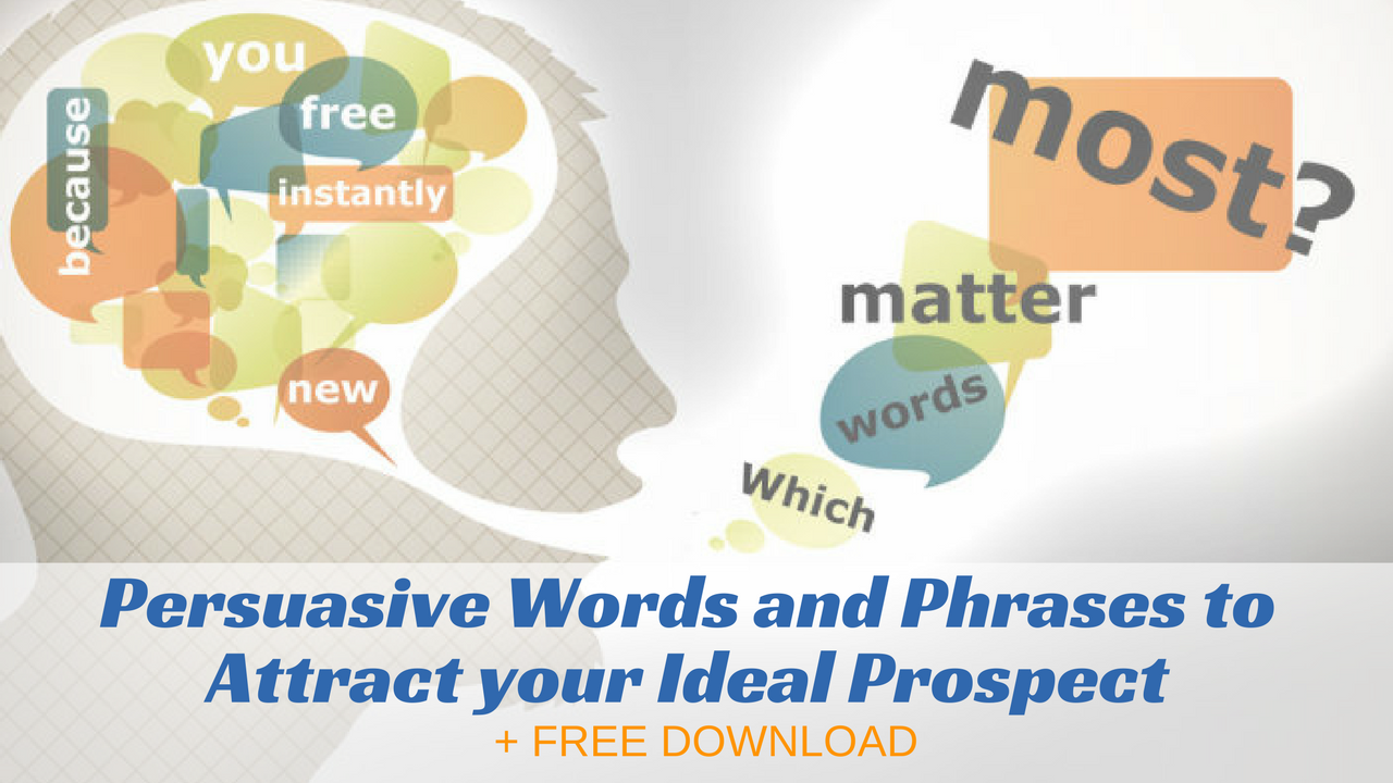 Persuasive Words and Phrases to Magnetically Attract Sales and Sign Ups