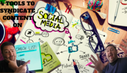 Tools to syndicate Social Media Content