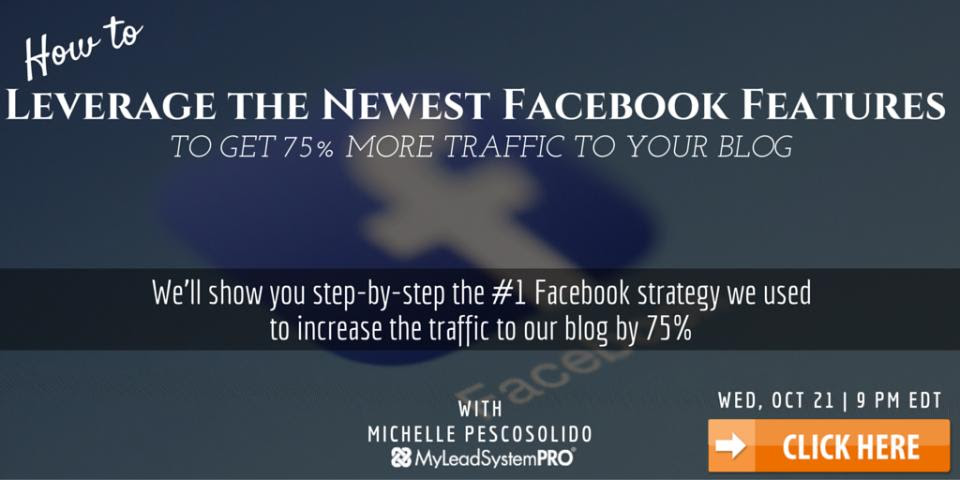 This Facebook strategy increased their blog traffic 75%…