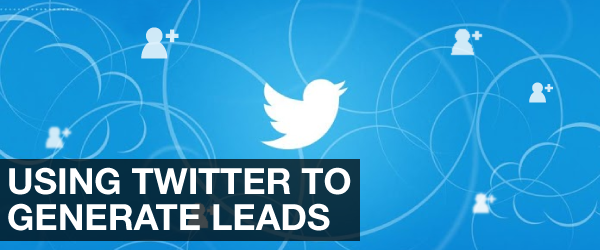 How to use twitter to generate leads