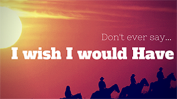 I wish I would have