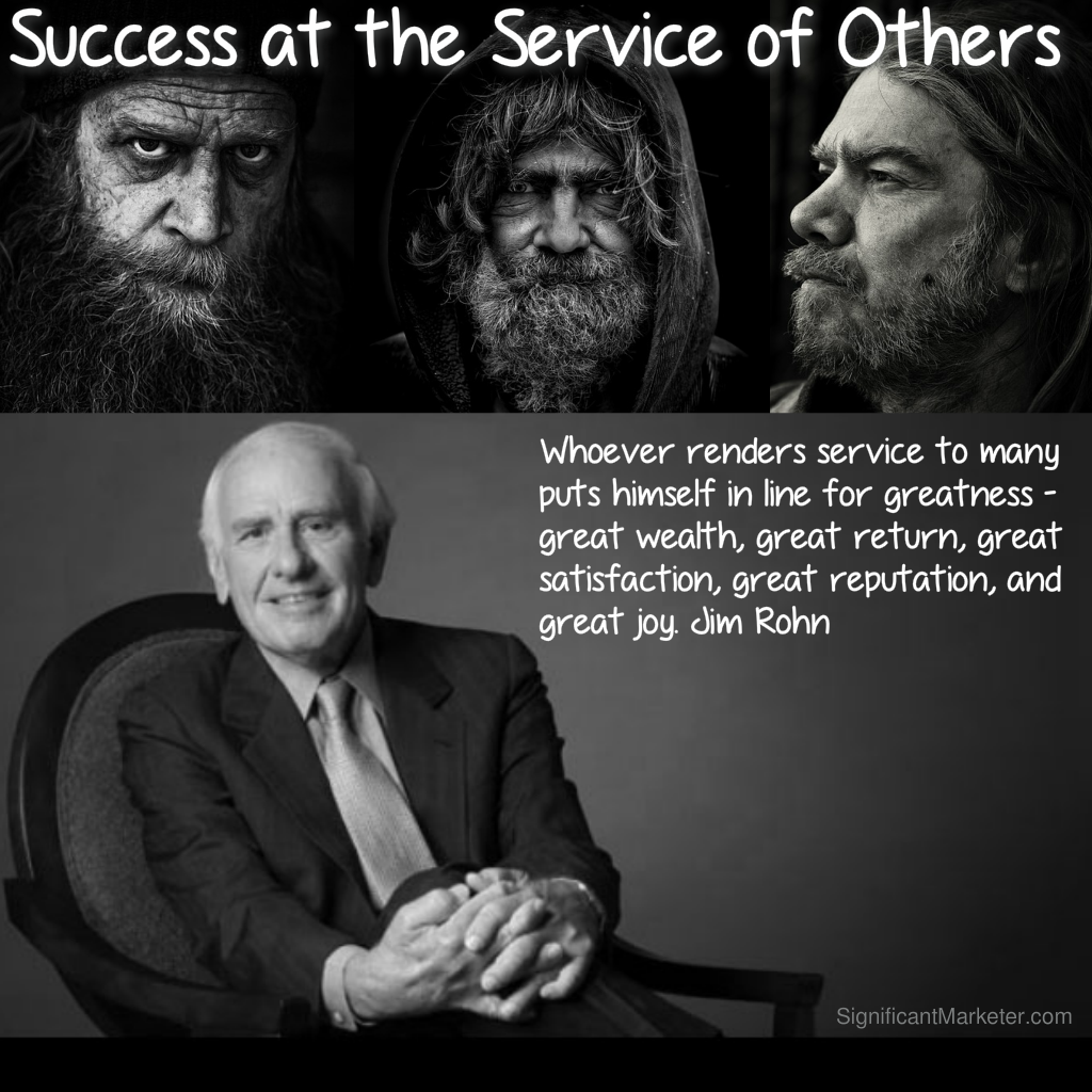 Success at the Service of Others – A Jim Rohn Story