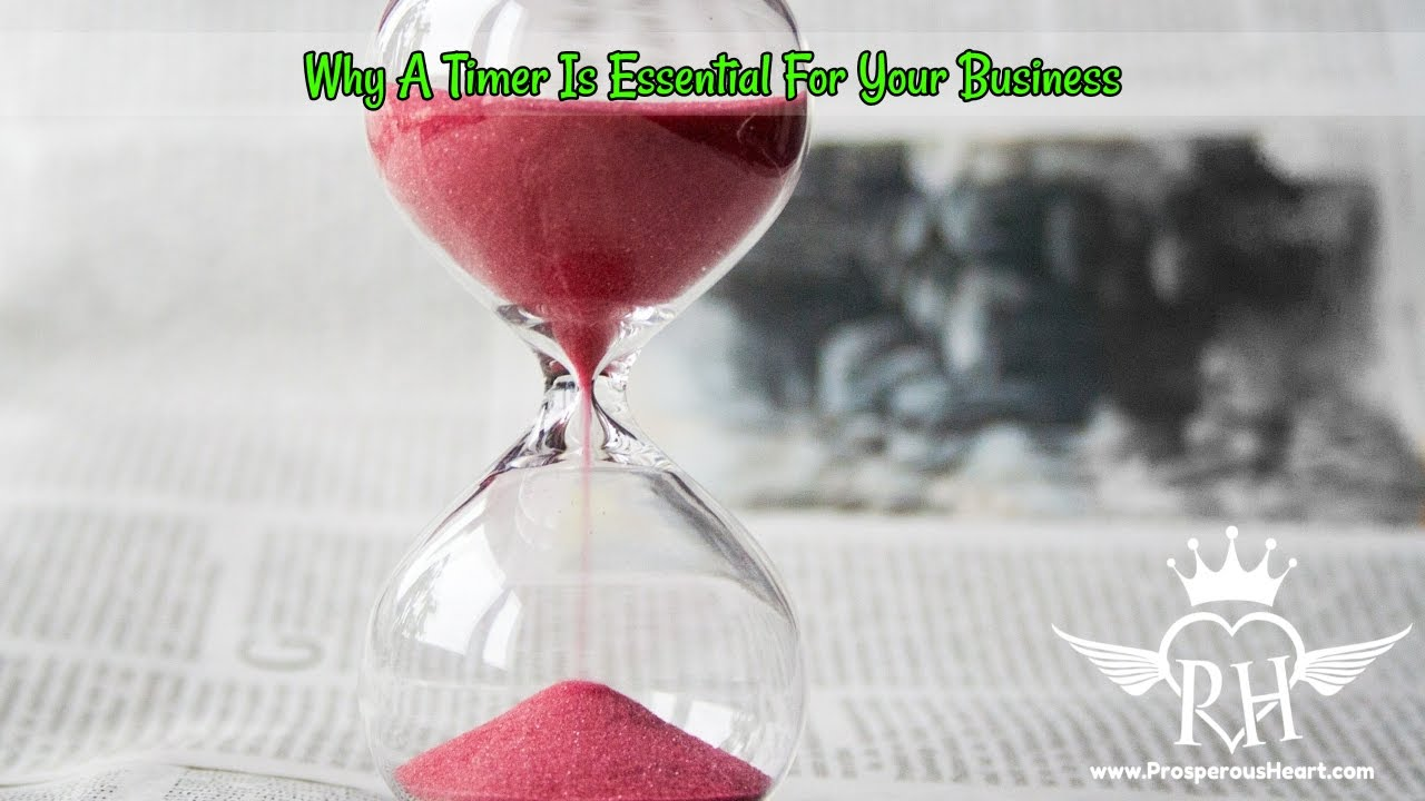2 Reasons Why A Timer Is Essential For Your Business