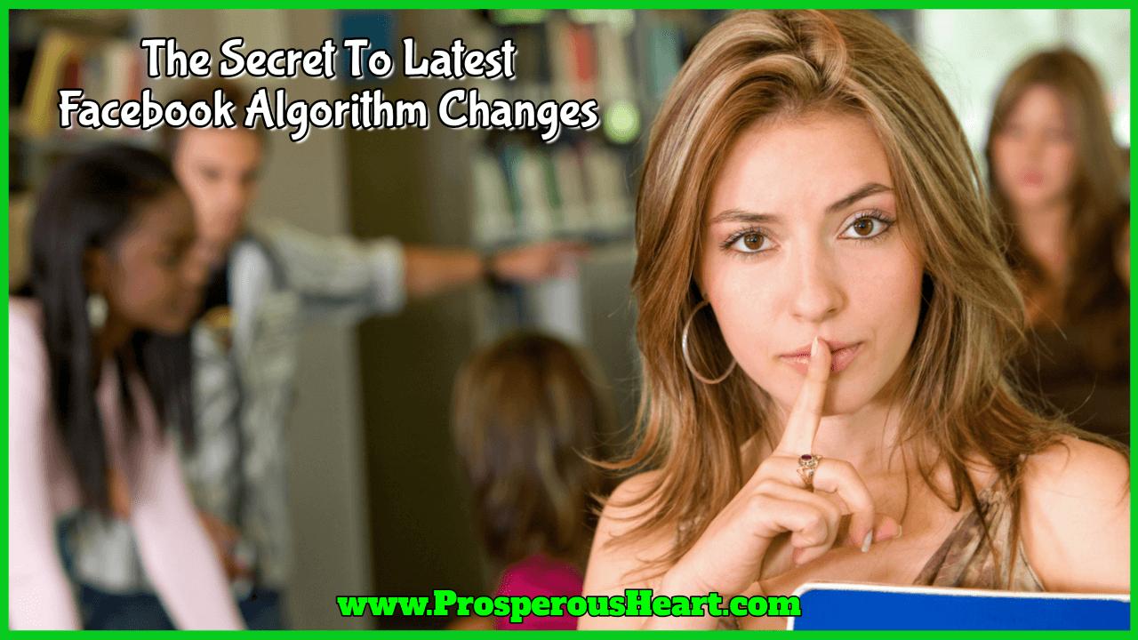 Facebook Algorithm Changes For 2018