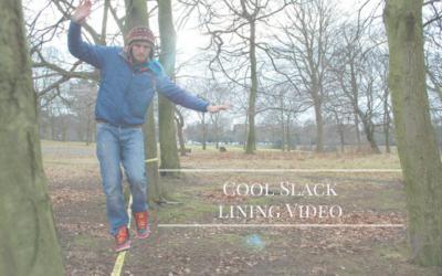Cool Slack Lining High Lining Video