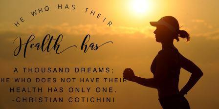 Are You Healthy and Dreaming or Just Dreaming of Being Healthy?