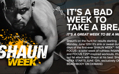 Shaun Week is Coming – 7 New Shaun T Workouts
