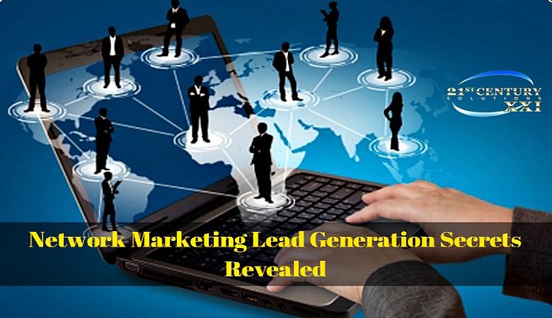 Network Marketing Lead Generation Secrets Revealed