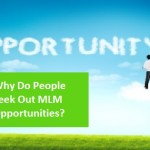 Why People Seek Out MLM Business Opportunities?