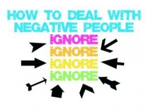 Negative people- How they affect you!