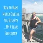 What Does 4 Years Working Online, Trendy Lacey Shorts, and Jogging Have To Do With Making the Money You Deserve Online?