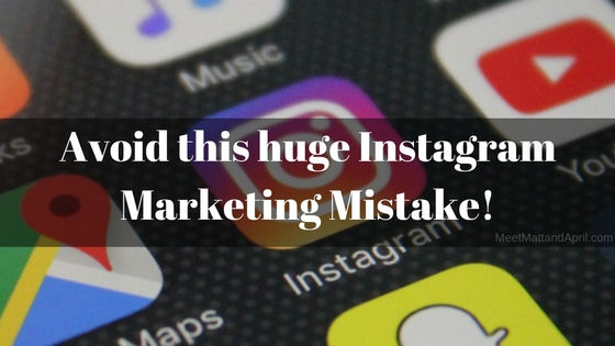 Instagram For Network Marketing Purposes | The Biggest Mistake to Avoid