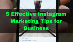 Instagram Marketing Tips for Business