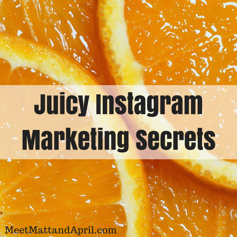 Juicy Instagram Marketing Secrets