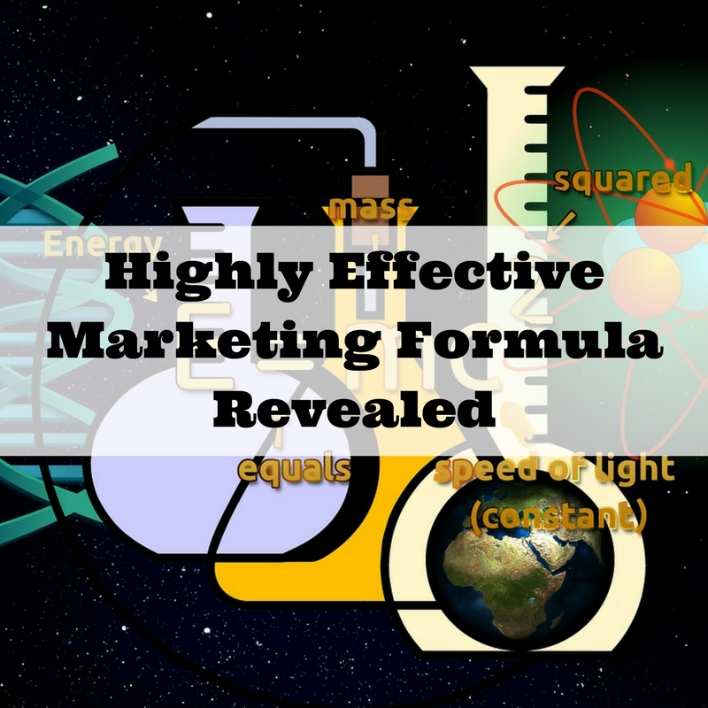 Highly Effective Marketing Formula Revealed