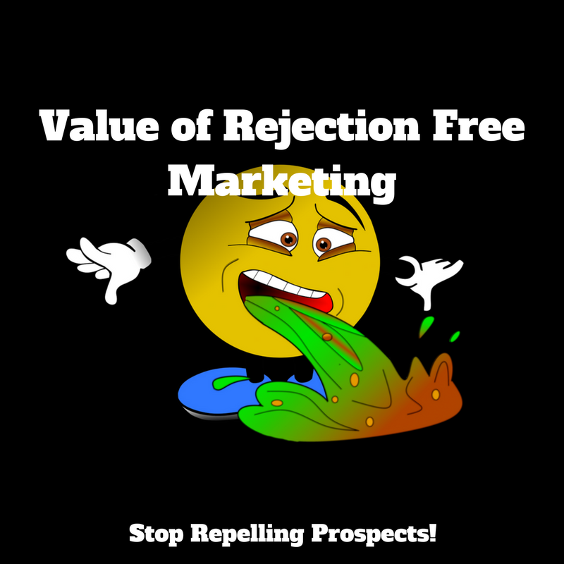 Value of Rejection Free Marketing